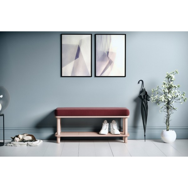 Phaselis Bench Bordo