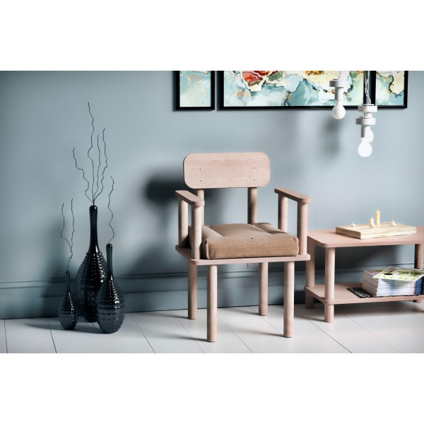 Magnesia Kolçaklı Sandalye Vizon