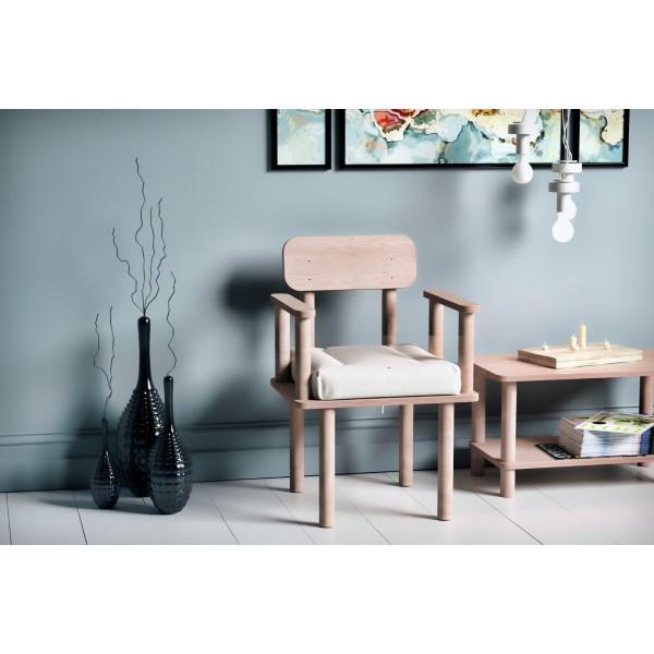 Magnesia Kolçaklı Sandalye Beyaz