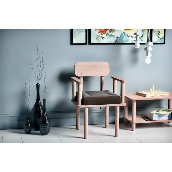 Magnesia Kolçaklı Sandalye Kahverengi